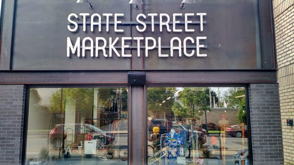State Street Marketplace brings ten Traverse City restaurants under one roof. Photo courtesy of State Street Marketplace - The Awesome Mitten