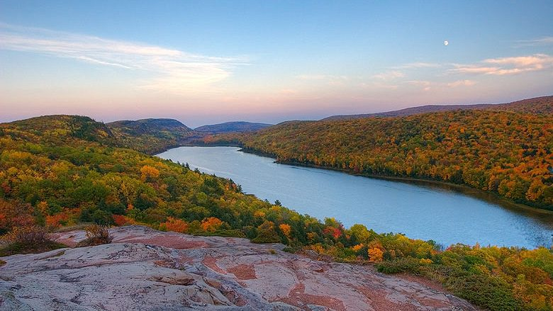 Lake of the Clouds from Escarpment Trail - Allie Christensen - The Awesome Mitten