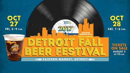 Michigan Brewers Guild's Detroit Fall Beer Festival