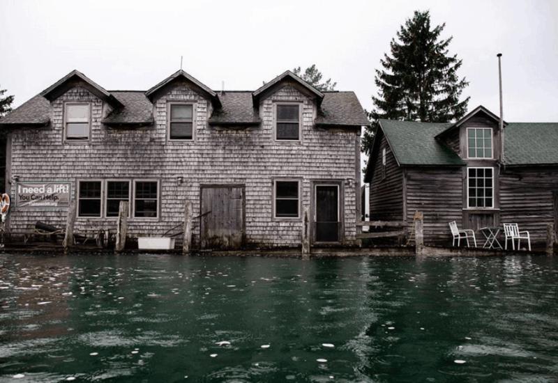 Fall in Fishtown - Leland Michigan