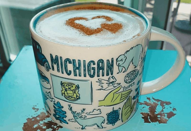 Mocha in Michigan Mug