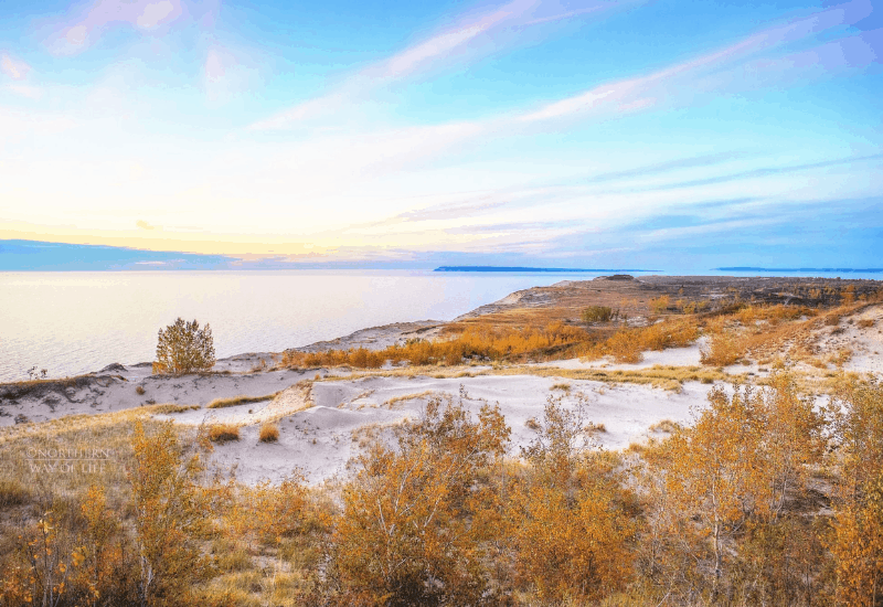 fall in Michigan - Sleeping Bear Dunes