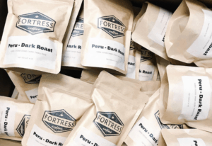 Fortress Coffee - small batch fresh roasted coffee in Jackson Michigan