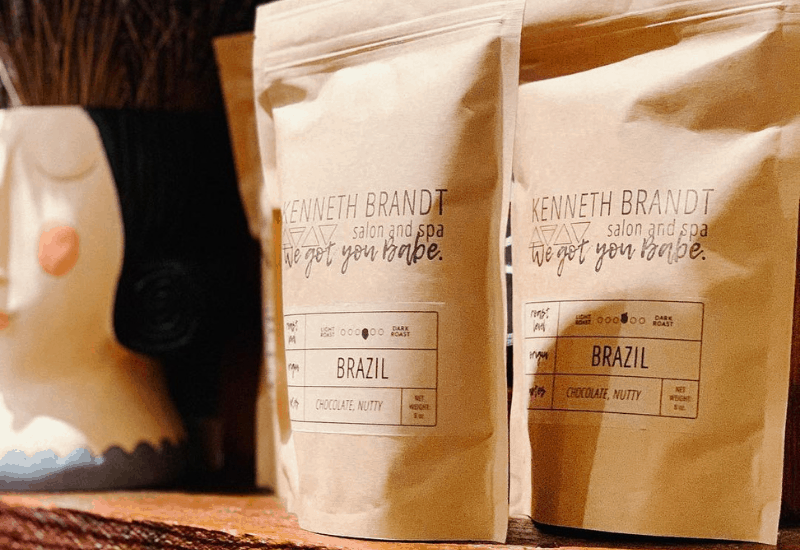 private label small batch roasted coffee