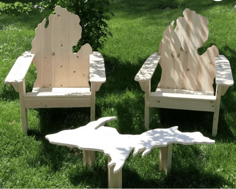 Adirondack Chairs - an ultimate michigan gift idea