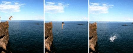 Black Rocks Marquette | Cliff Jumping in Michigan at Presque Isle Park