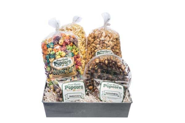 GR Popcorn Sampler - an ultimate michigan gift idea