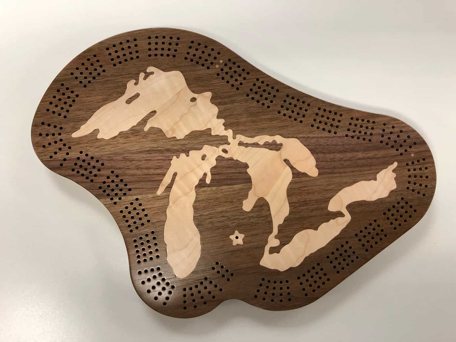 Cribbage Board - an ultimate michigan gift idea