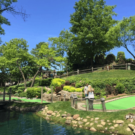 Pirates Cove Minigolf in Traverse City, Michigan