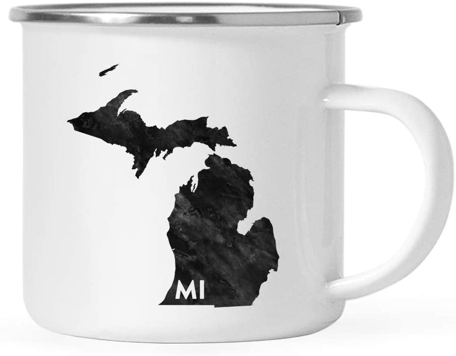 Camping Mug - an ultimate michigan gift idea