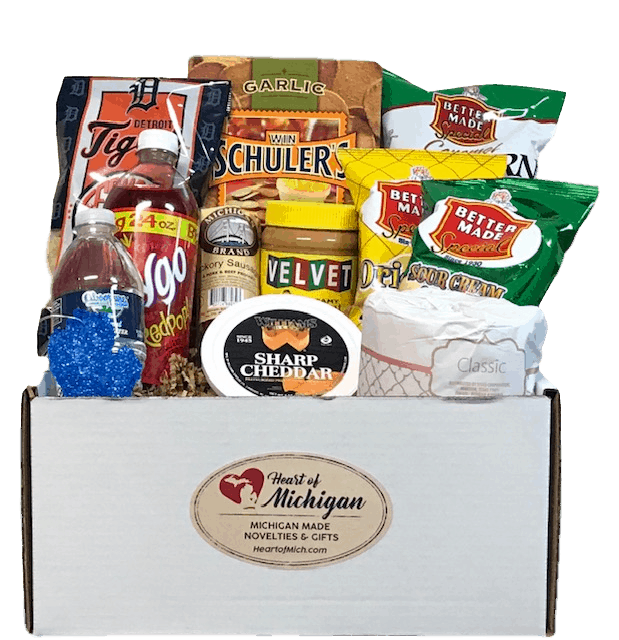 Michigan Care Package - an ultimate michigan gift idea