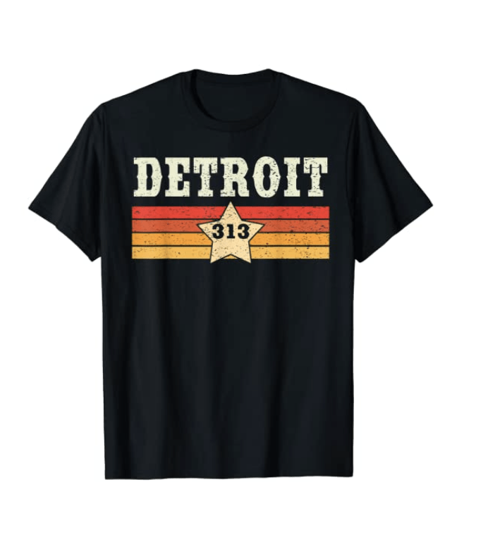 Retro T-Shirt - an ultimate michigan gift idea