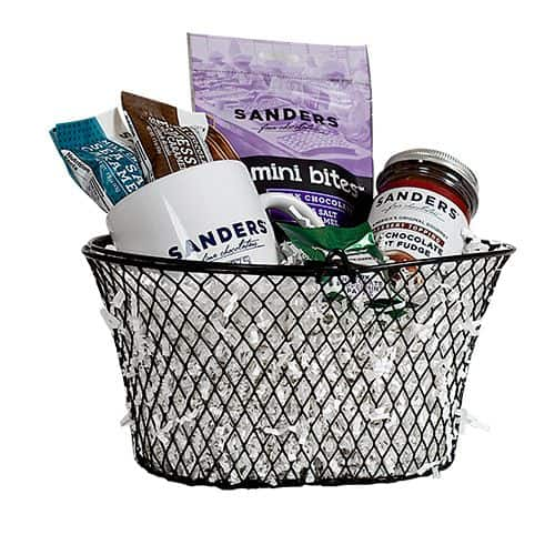Taste of Sanders Gift Basket - an ultimate michigan gift idea