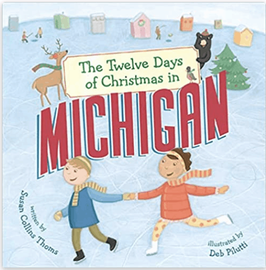 Twelve Days Of Xmas in MI Book - an ultimate michigan gift idea