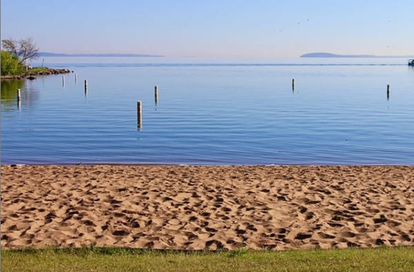 Clinch Park Beach - Traverse City, Michigan