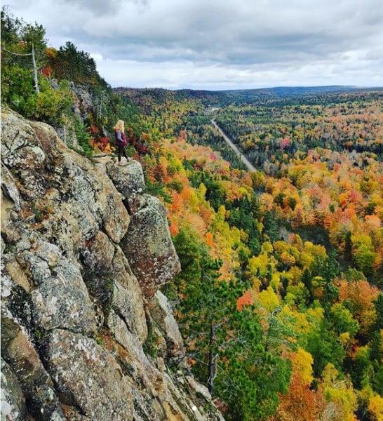 Keweenaw Peninsula - Michigan fall colors