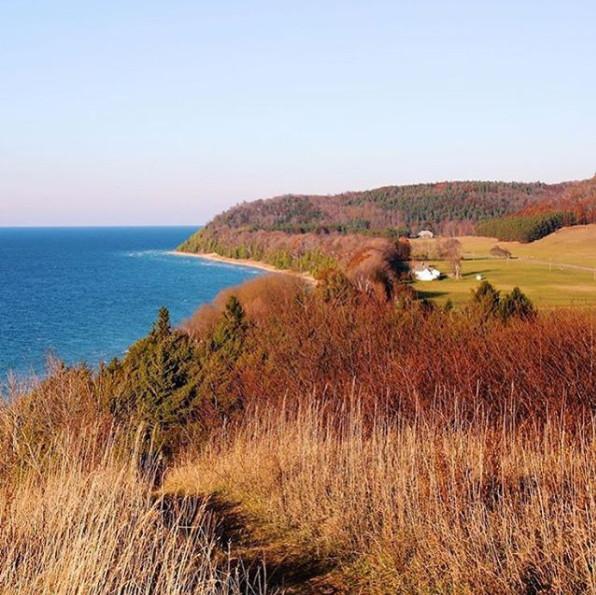 Leelanau Peninsula - Leelanau State Park - Fall in Michigan