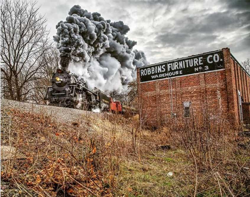 Pere Marquette 1225 - Michigan Fall Color Train Tour