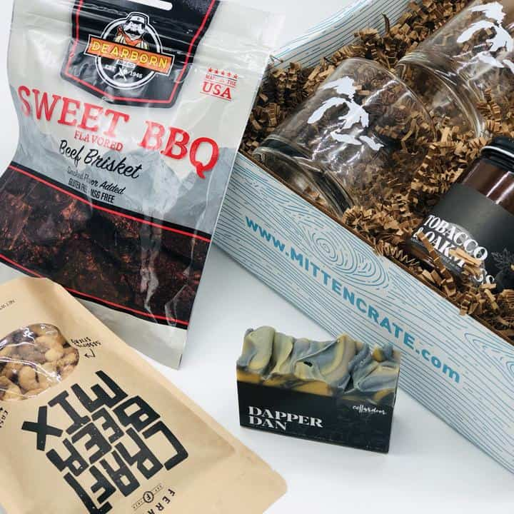 Ruggedly Refined Gift Box - an ultimate michigan gifts idea