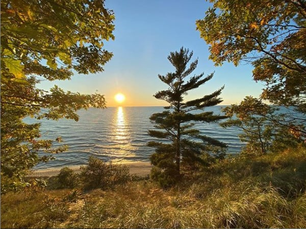 Saugatuck Dunes State Park - Fall in Michigan