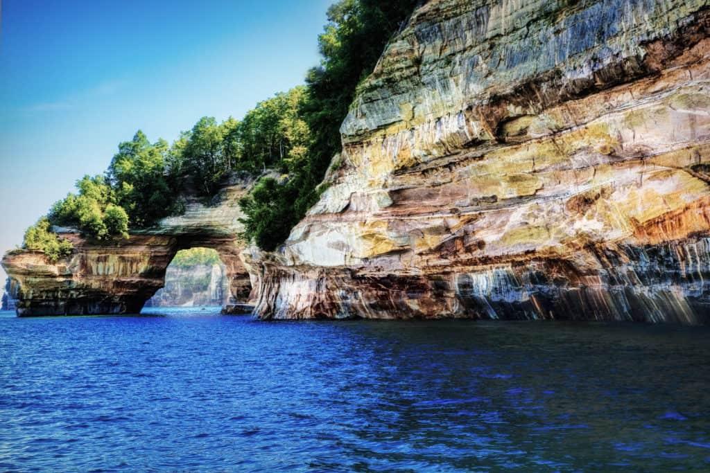 Pictured Rocks, UP, Michigan