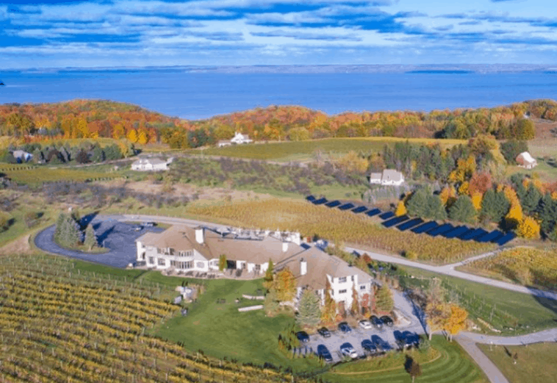 Chateau Chantal - One of the Best, Unique Traverse City Wineries & Vineyards
