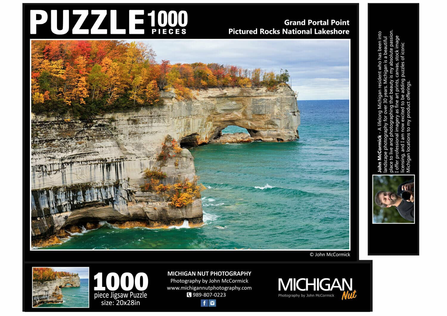 Picture Rocks Puzzle - an ultimate michigan gift idea
