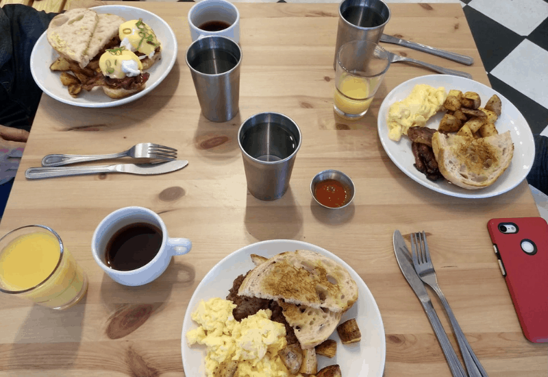 Enjoy the best breakfast in Traverse City at Benedict