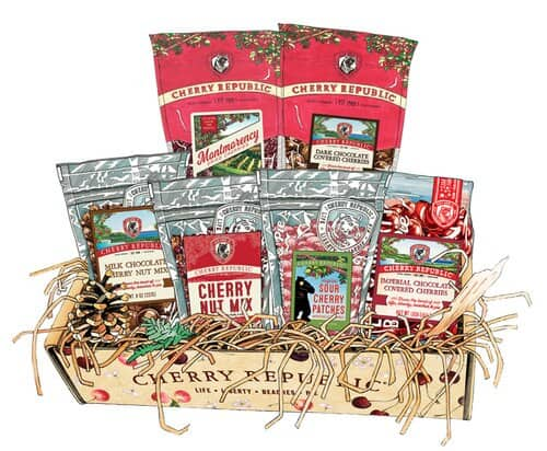 Cherry Cheer Gift Box - an ultimate michigan gift idea
