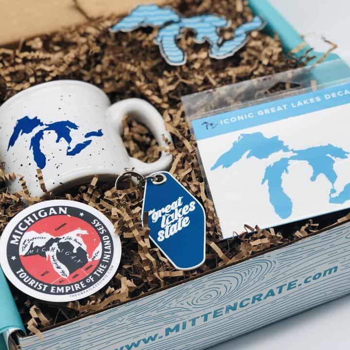 Great Lakes Pride Gift Set - an ultimate michigan gift idea