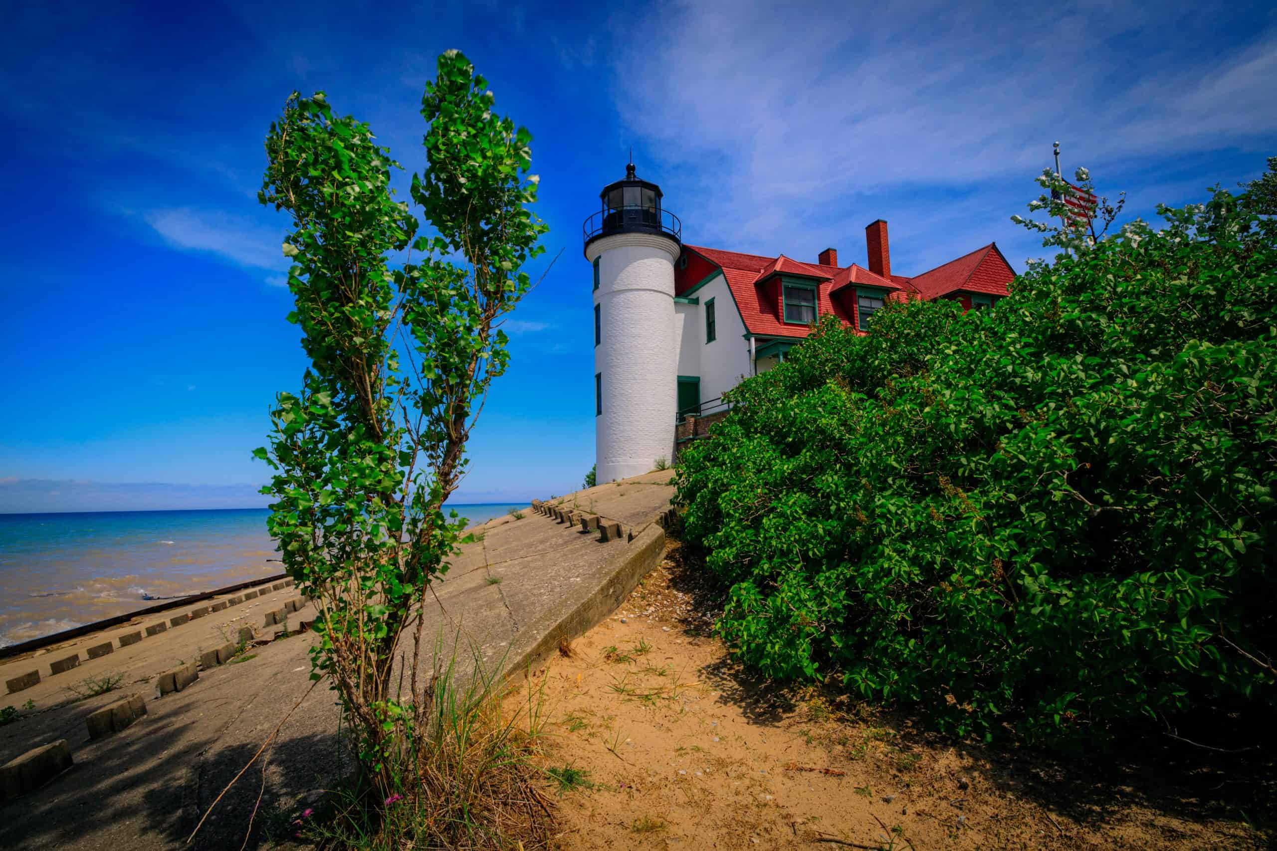 lighthouse michigan dennis buchner scaled Only A True Michigander Will Know These 16 Landmarks #Challenging