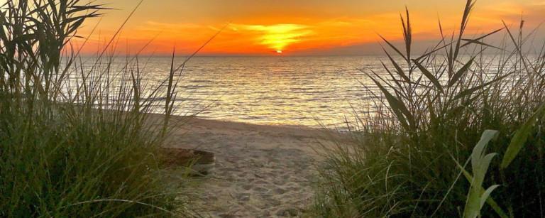lake huron beaches in michigan