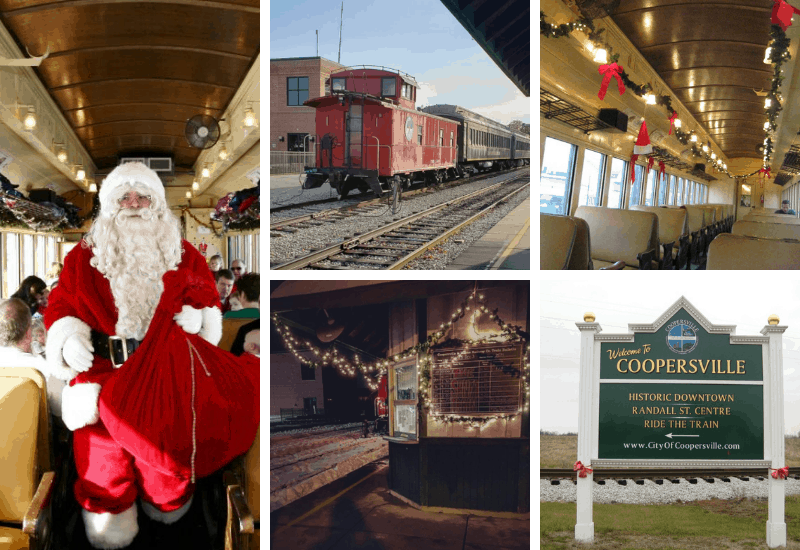 Coopersville and Marne Santa Train | Polar Express Train Rides in Michigan