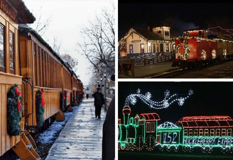 Crossroads Village and Huckleberry Express | Polar Express Train Rides in Michigan