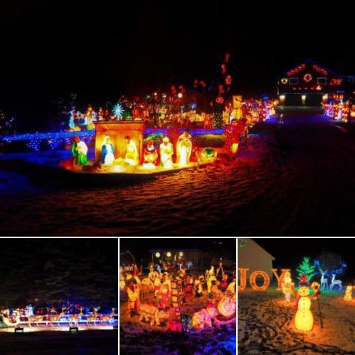 Northern Michigan best Christmas light displays - Herman Holidays
