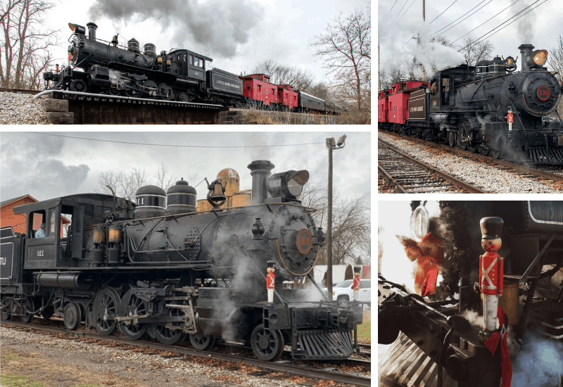 Little River Railroad | Polar Express Train Rides in Michigan