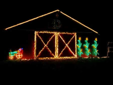 Merry Mile Guide to the BEST Christmas Light Displays in Michigan [UPDATED 2021]