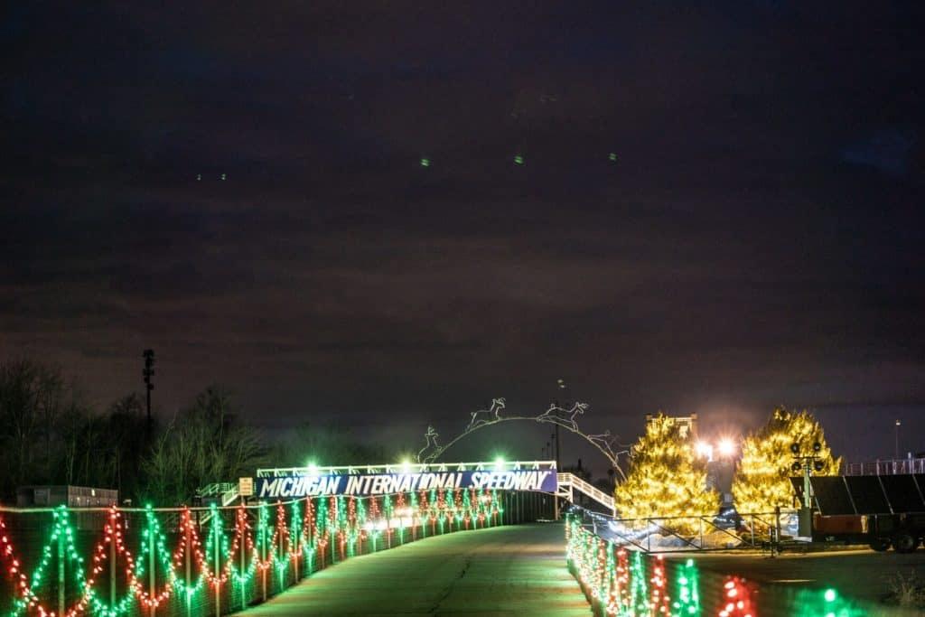 Nite Lites at MIS in Jackson Michigan | Best Christmas Light Display in Michigan
