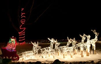 Sparkle in the Park Guide to the BEST Christmas Light Displays in Michigan [UPDATED 2021]