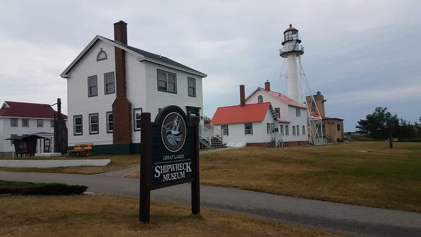 Whitefish Point Light Station - by Great Lakes Shipwreck Museum