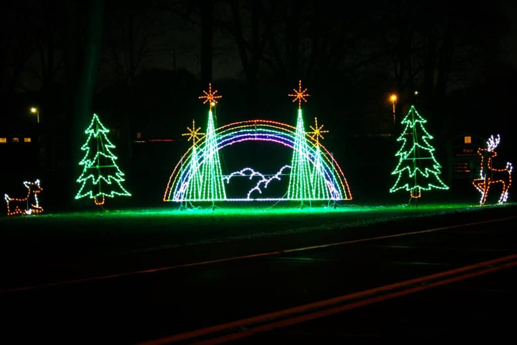 Wayne County Lightfest | Best Christmas Light Displays in Michigan