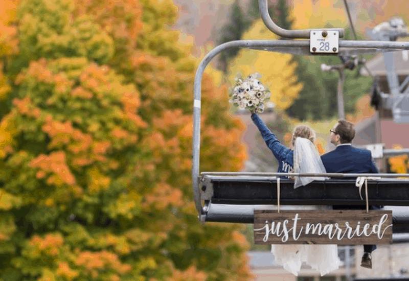weddings at crystal mountain resort michigan