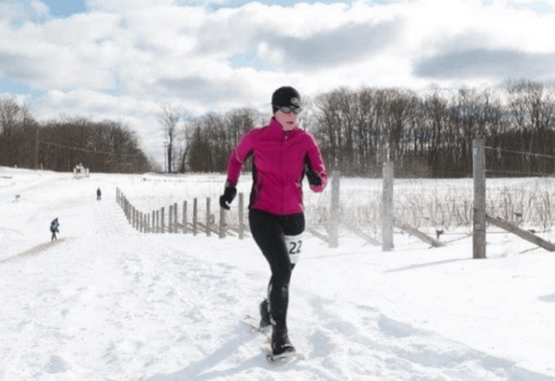 winter running in traverse city