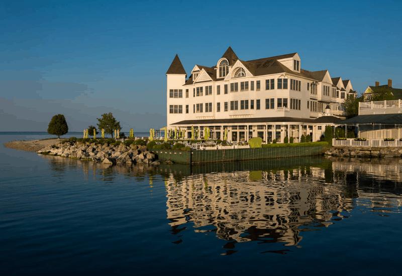 Hotel Iroquois - hotel on Mackinac Island