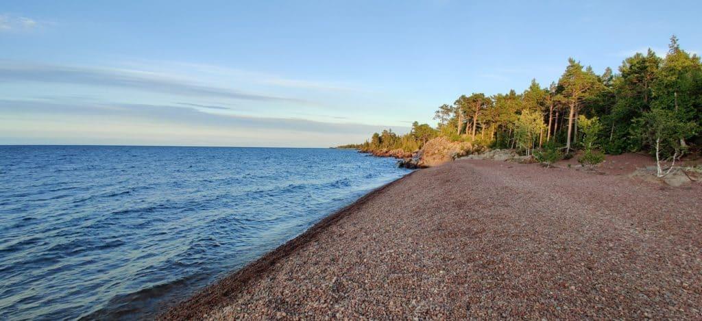 best michigan beaches - upper peninsula
