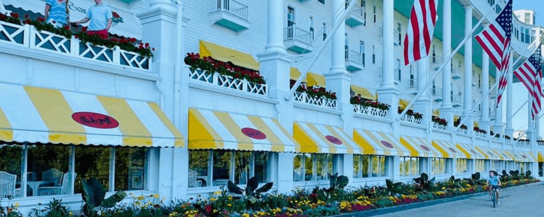 Mackinac Island Hotels   Grand Hotel Mackinac Island