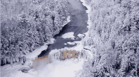 An Eastern Upper Peninsula Winter Road Trip #MittenTrip