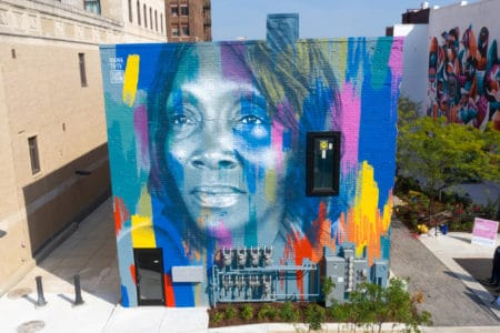 mama tutu brightwalls by owley See the Bright Walls Murals in Downtown Jackson