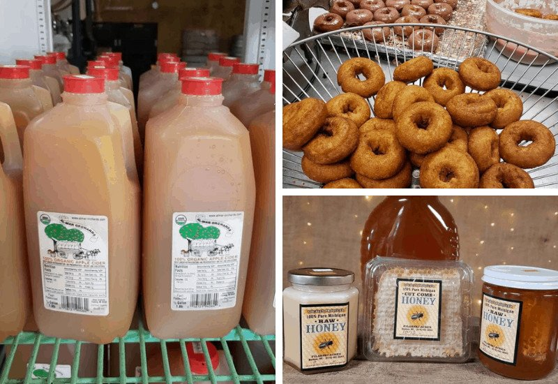 Delicious fall flavors at Almar Orchards and Cidery in Flushing, Michigan