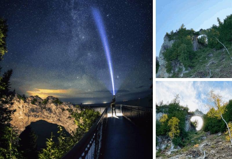 Stunning Arch Rock Mackinac Island Photos